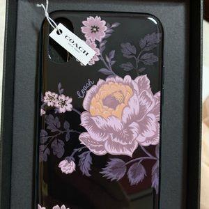 COPY - Coach iPhone X floral case